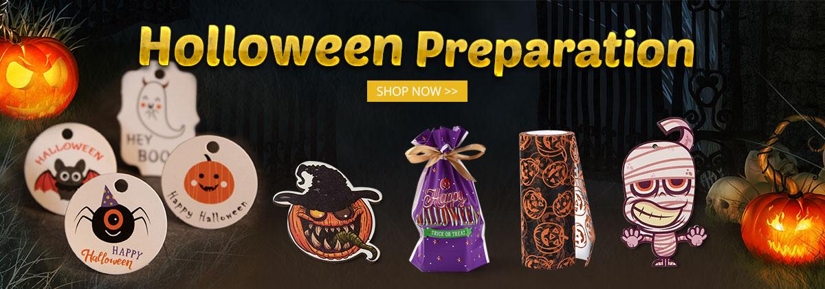 Halloween Preparation Shop Now