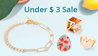 Under $ 3 Sale