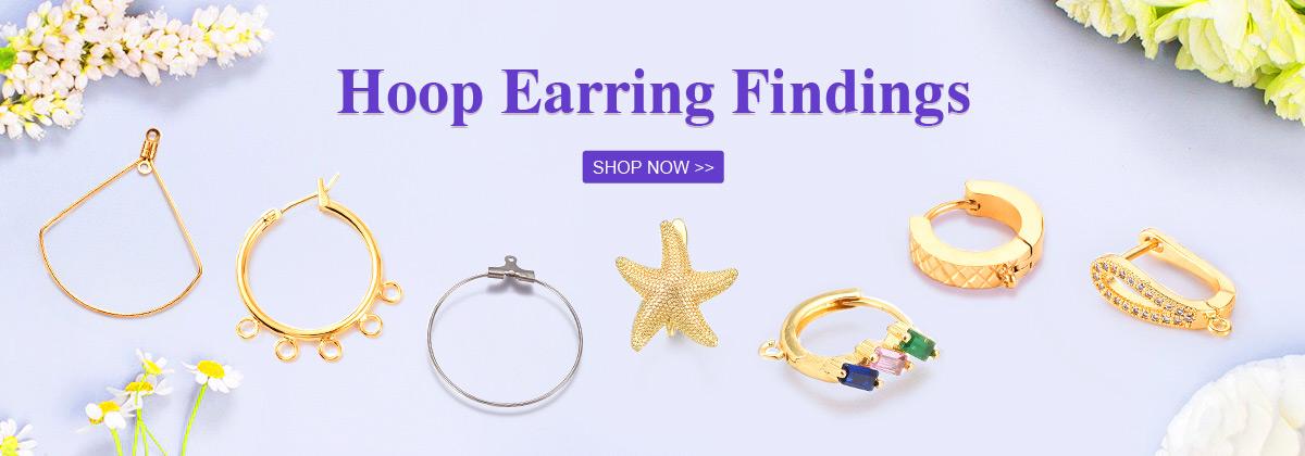 Hoop Earring Findings SHOP NOW