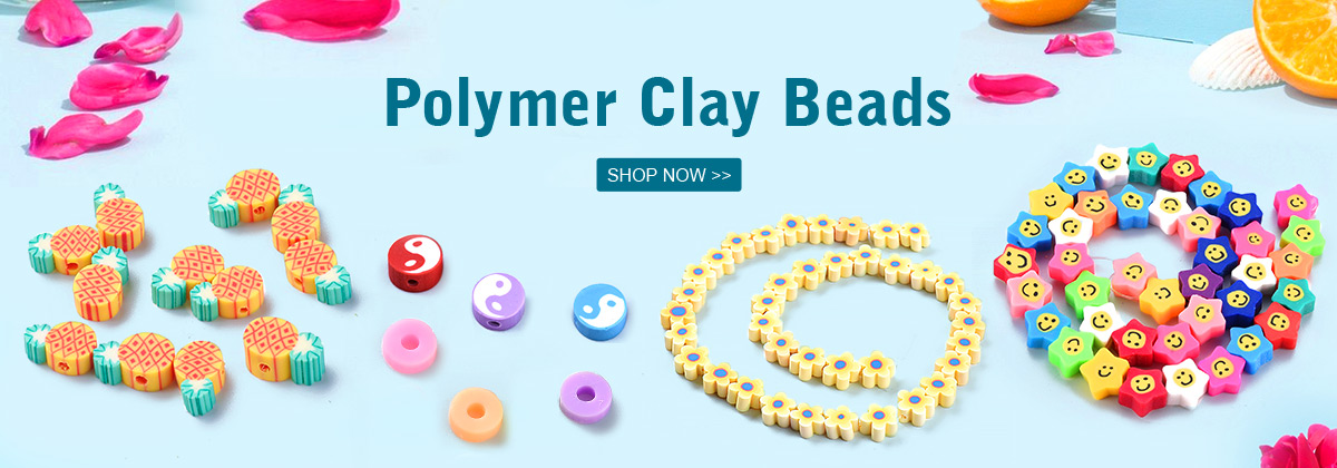Polymer Clay Beads SHOP NOW