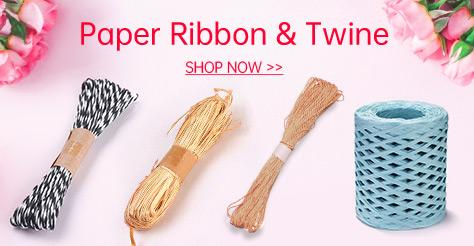 Paper Ribbon & Twine