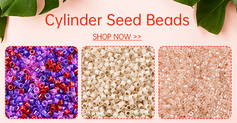 Cylinder Seed Beads