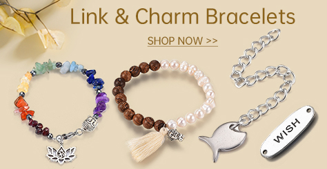 Link & Charm Bracelets