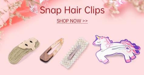 Snap Hair Clips